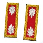 Union Artillery Lt Colonel Shoulder Insignia Set